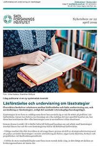 fbb261aa Nyhetsbrev   Skolforskningsinstitutet