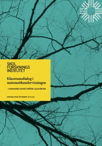 Printed Classroom Dialogue in Mathematics Education