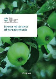 Omslag till Sammanfattar och kommenterar: Lärarens roll när elever arbetar undersökande