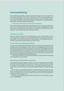 Bild på förstasidan av sammanfattningen, främja studiero